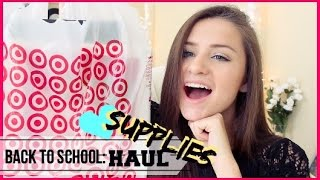 Back to School Supplies Haul! | 2014 Thumbnail