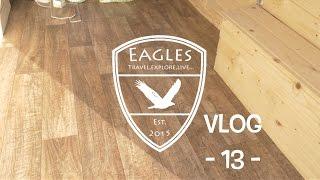 Vlog 13 - Pokládáme lino \\ Vinyl floor