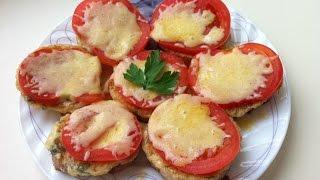 Гренки с помидорами и сыром. Мамулины рецепты