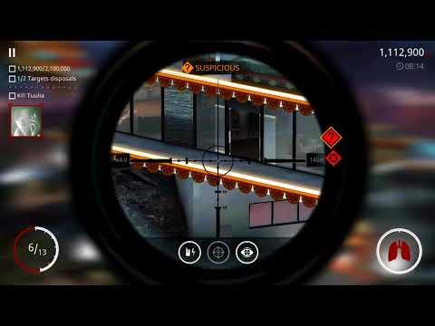 Hitman sniper - score 2100000 & get 2 profile target body disposals