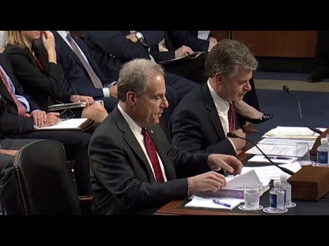 Inspector general, FBI director testify on Clinton email investigation report