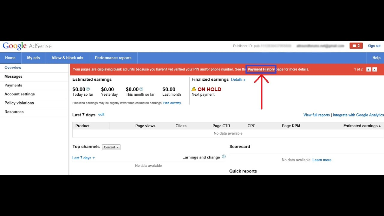 How To Verify Address In Google AdSense By Email Without PIN