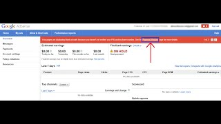 How to Verify Address in Google AdSense by email withoout PIN - EASY STEP 100% Works