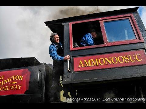All Aboard!  Climbing Mount Washington Via The Cog Railway
