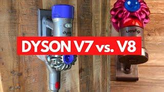 Dyson V7 Oder V8 Welchen Akku Staubsauger Soll Ich Kaufen Youtube