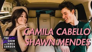 Camila Cabello got a ride with Shawn Mendes Video