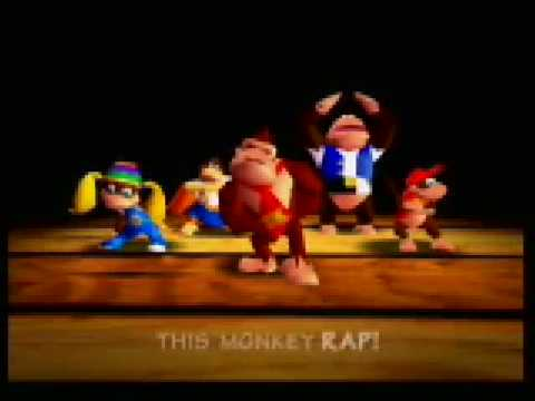 Old School Donkey Kong 64 Theme Song - DK Rap