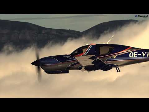 Soar above with the Diamond Aircraft DA50 RG