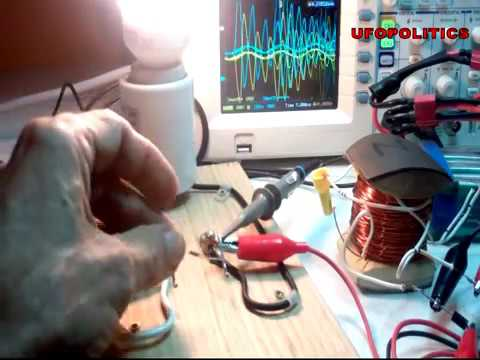 RADIANT ENERGY COLD ELECTRICITY RESISTANCE TEST 1 of 2