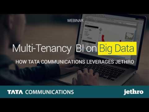 Tata Communications BI on Hadoop with Jethro Webinar