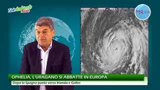 OPHELIA, L'URAGANO SI ABBATTE IN EUROPA