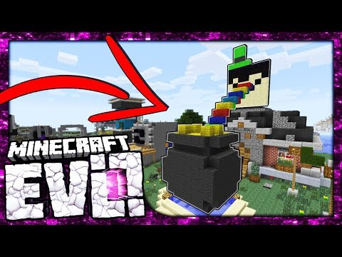 LUCKY POT OF GOLD FOR MAYOR TAURTIS!?   Minecraft Evolution SMP   #49