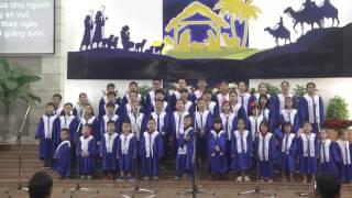 BAN NHI ĐỒNG HTTL ĐÀ NẴNG TRONG ĐÊM MỪNG CHÚA GIÁNG SINH 25-12-2016
