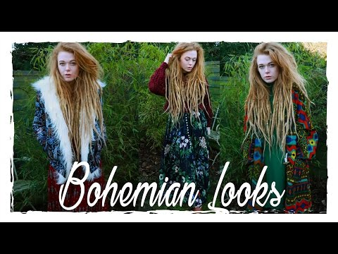 Bohemian Hippie Inspired Outfits