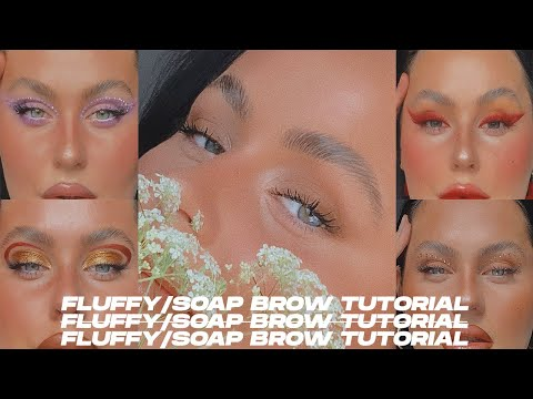 Fluffy Soap Brow Tutorial   Isabelle Kate