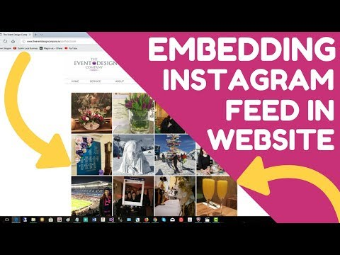 How to Embed Instagram Feed in Website - the easy way