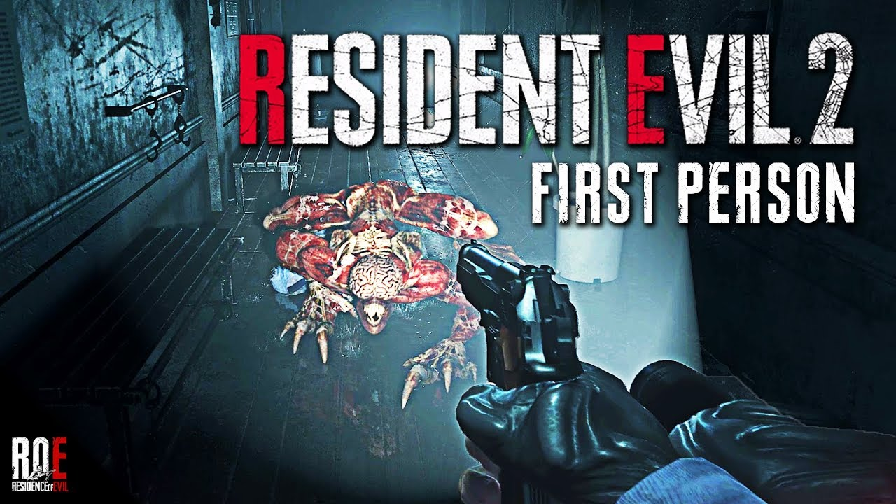 RESIDENT EVIL 2: REMAKE   FIRST PERSON MOD