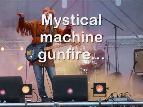 Kula Shaker-Mystical Machin Gun (Lyrics).wmv