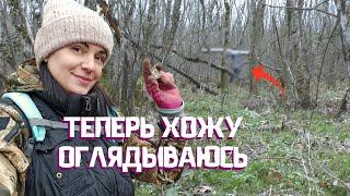 КОПАЮ в лесу ОДНА или НЕТ? Нашла поляну с монетами и приключения на свою...
