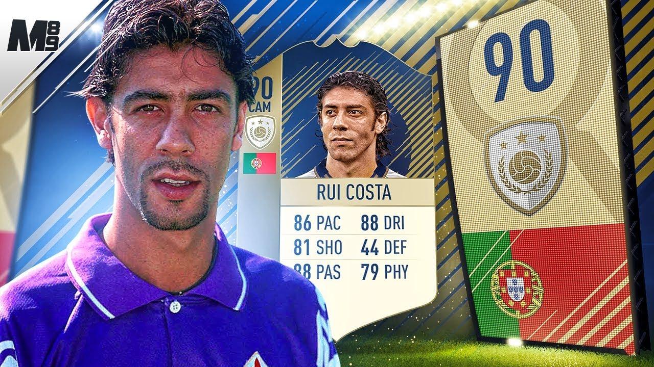 FIFA 18 ICON RUI COSTA REVIEW