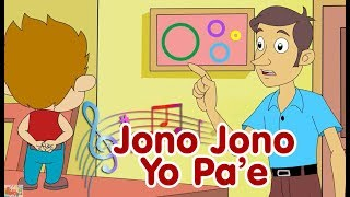 Jono Jono Yo Pa'e - Johnny Johnny Yes Papa (versi Jawa) | Lagu Anak Indonesia