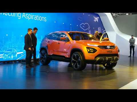 Tata H5X SUV in Hindi | Auto Expo 2018 | Launch | MotorOctane