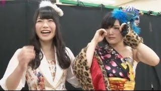 NMB48が紅白歌合戦初出場決定を受けて、 山本彩と横山由依が感動のあま...
