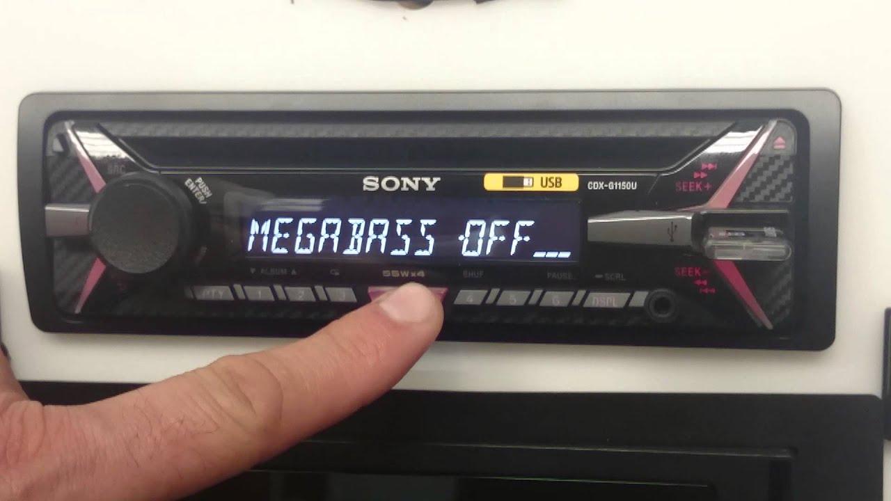 sony xplod cdx g1150u youtube rh youtube com manual radio sony xplod manual radio sony xplod cdx-gt470us
