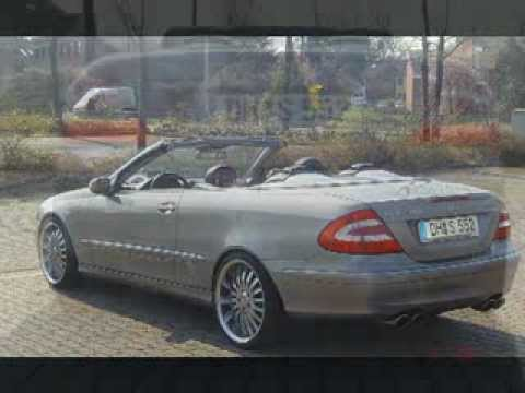 mercedes clk 500 tuning youtube. Black Bedroom Furniture Sets. Home Design Ideas