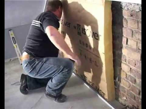 Isolation des murs du grenier de l 39 int rieur isover for Isolation mur de garage