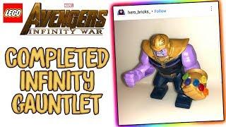 LEGO Avengers Infinity War COMPLETED Infinity Gauntlet