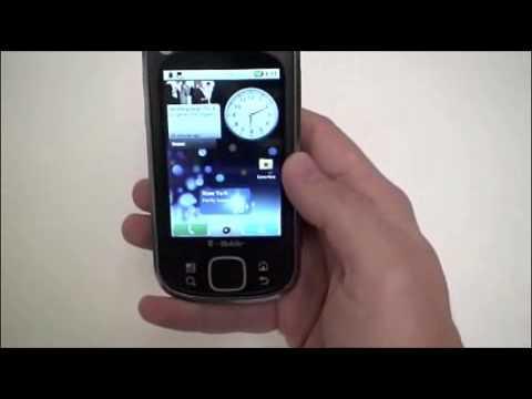 Motorola Cliq XT with MOTOBLUR Quick Look.wmv