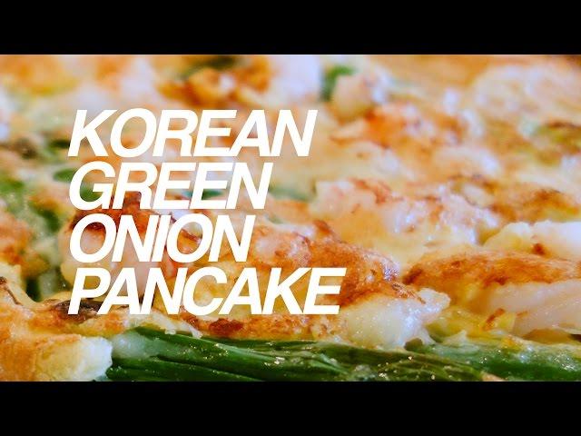 Korean Green Onion Pancake
