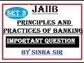 JAIIB Principles And Practices Of Banking Module D Marketing Questions
