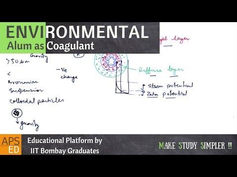 Alum As Coagulant   Environmental Engineering