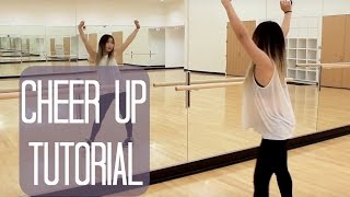 "TWICE(트와이스) ""CHEER UP"" Lisa Rhee Dance Tutorial"