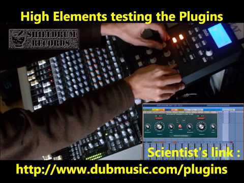 "High Elements mix with ""The Scientist dubwize Plugins"" - Part 5 2015"