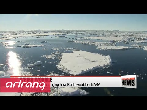 Global warming changing how Earth wobbles: NASA