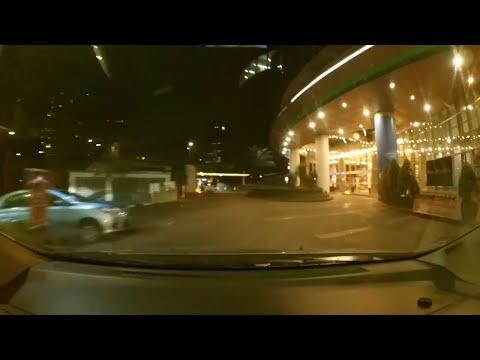 Driving In Jakarta Kuningan City To Pulomas At Night (Malam Hari) 2018