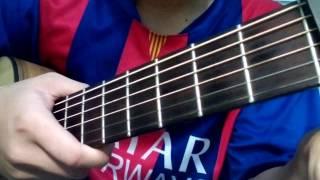 Hướng dẫn : Anh Đang Nơi Đâu ( Miu Lê) guitar đơn giản