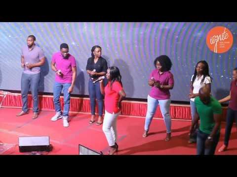 "Perfected Praise ministering ""Ahh"" by Tasha Cobbs"