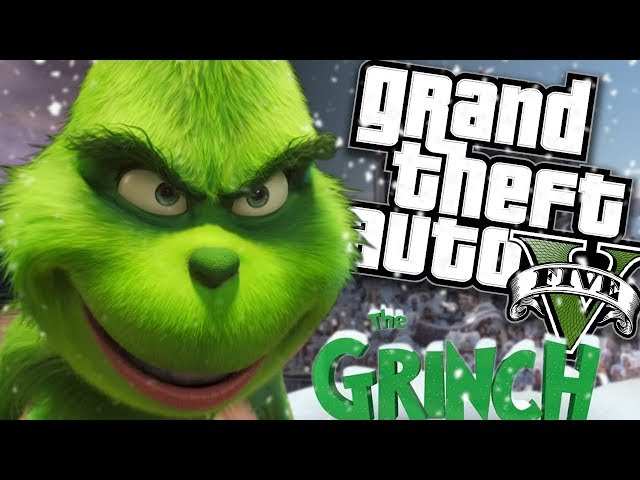 THE NEW GRINCH MOVIE MOD (GTA 5 PC Mods Gameplay)
