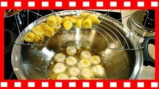Банановые шарики в кляре с медом и кунжутом в ВОК iCook Амвей