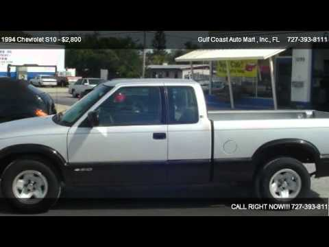 1994 Chevrolet S10 Ls Ext Cab Short Bed 2wd For Sale In Largo Fl 33778