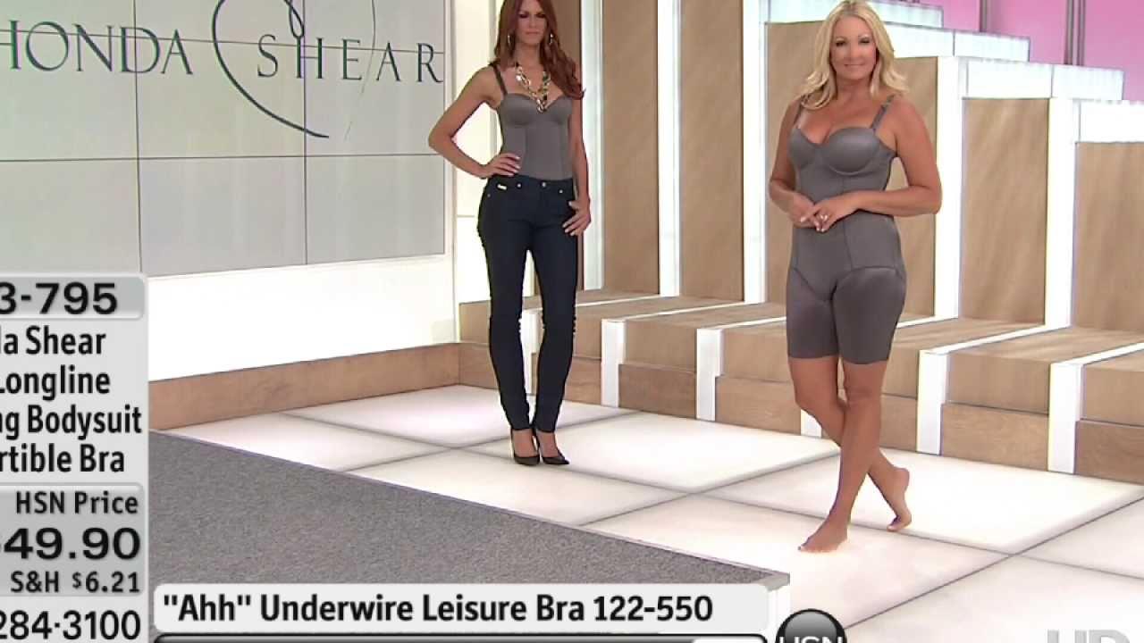 HSN model Regina Satin Bodysuit - YouTube