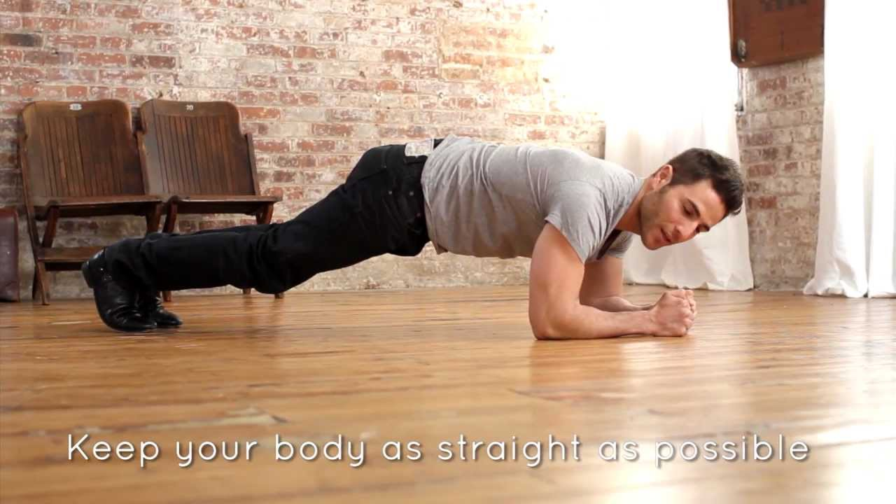 The Perfect Plank with Joey Gonzalez - YouTube