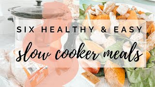 EASY SLOW COOKER MEALS  HEALTHY RECIPES  FAMILY FRIENDLY  VICKY THORNTON NORRIS