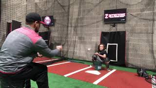Catching Lessons @ In The Zone Baseball & Softball Academy