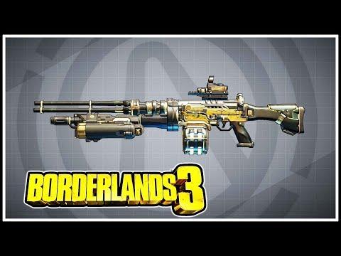Shredifier Borderlands 3 Legendary Showcase