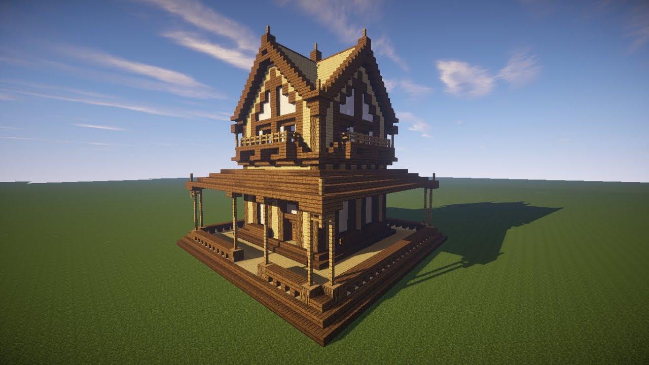 Como construir sua primeira casa no minecraft youtube - Como construir mi casa ...
